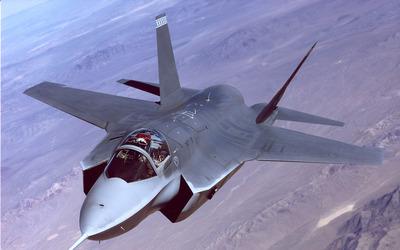 Lockheed Martin F-35 Lightning II [11] wallpaper