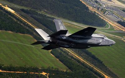 Lockheed Martin F-35 Lightning II [9] wallpaper