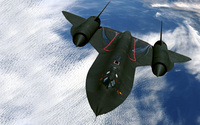 Lockheed SR-71 Blackbird wallpaper 2560x1600 jpg