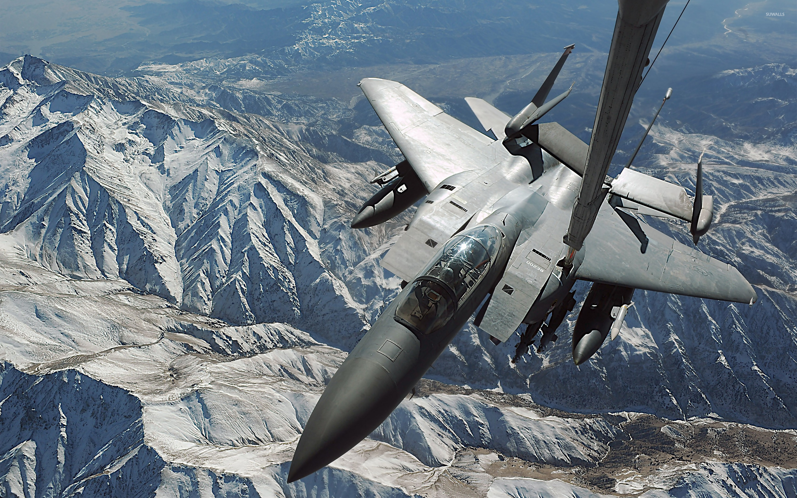 mcdonnell douglas f-15 eagle wallpaper - aircraft wallpapers - #11704