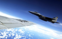 McDonnell Douglas F-15 Eagle [10] wallpaper 1920x1200 jpg