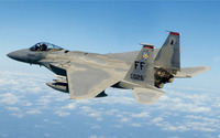 McDonnell Douglas F-15 Eagle [15] wallpaper 2560x1600 jpg