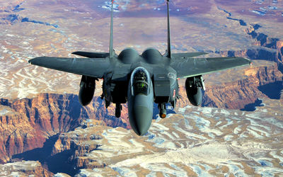 McDonnell Douglas F-15 Eagle [4] wallpaper