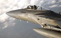 McDonnell Douglas F-15 Eagle pilot cabin close-up wallpaper 1920x1200 jpg