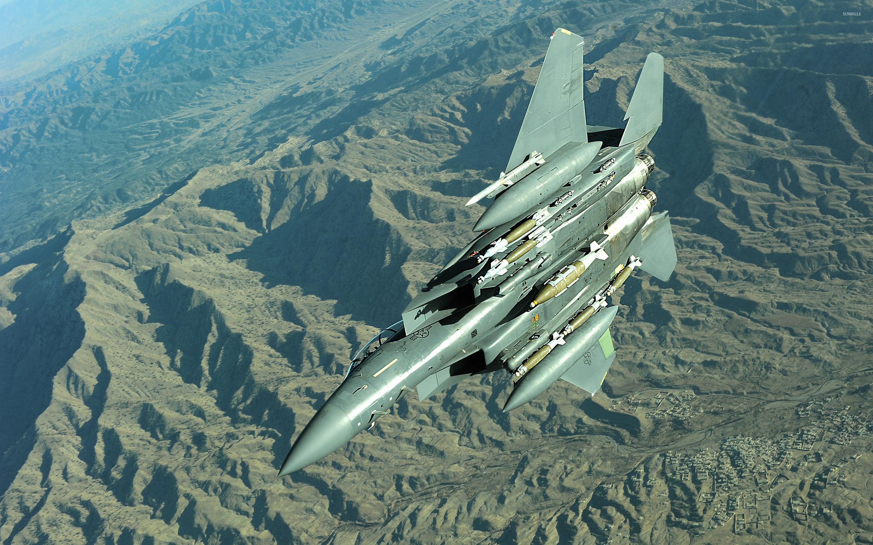 mcdonnell douglas f-15e strike eagle wallpaper - aircraft wallpapers