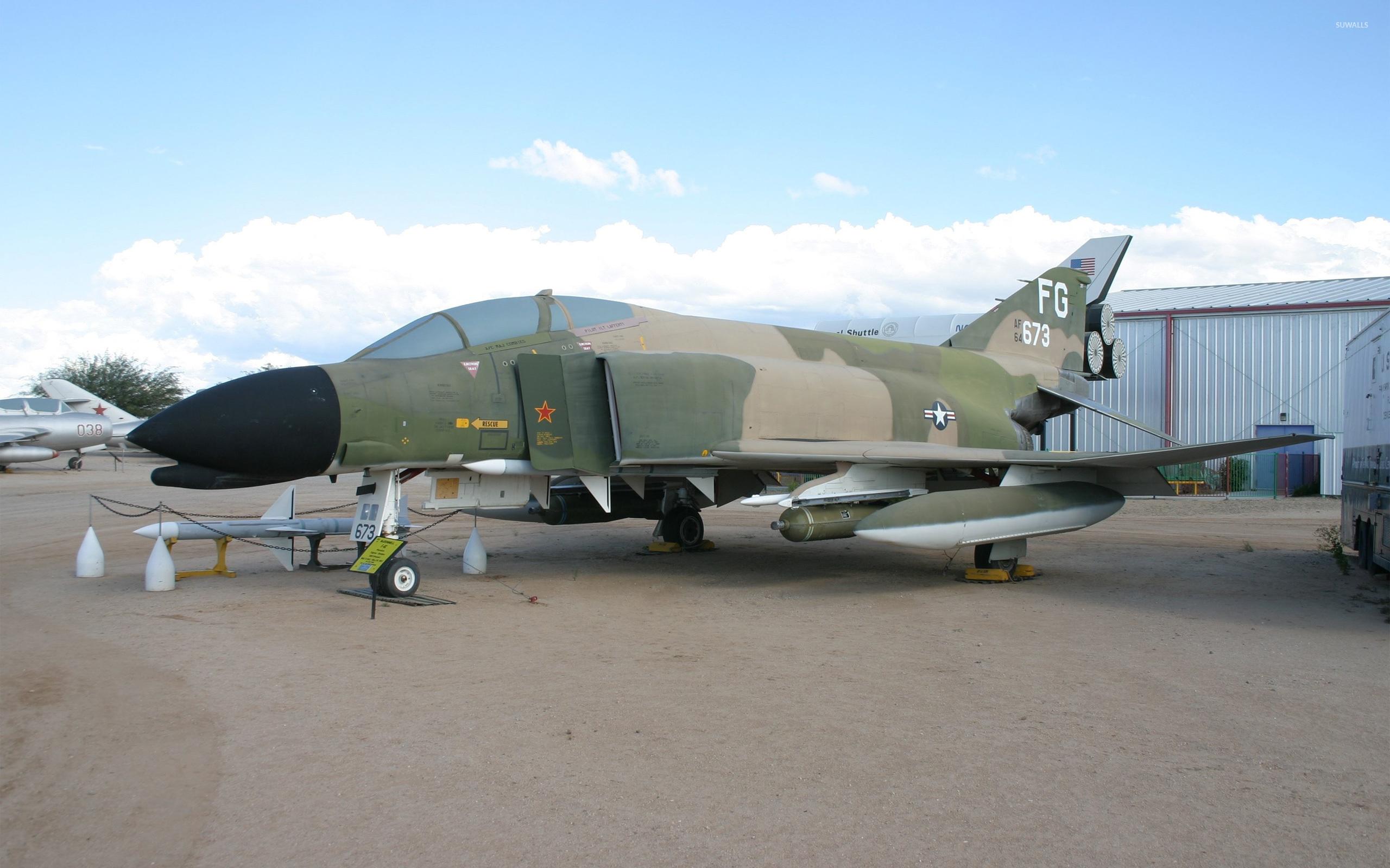 Mcdonnell Douglas F 4 Phantom Ii 2 Wallpaper Aircraft