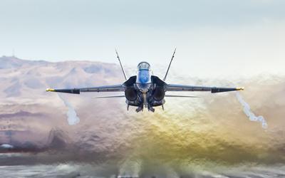 McDonnell Douglas F/A-18 Hornet [14] wallpaper