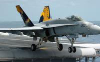 McDonnell Douglas F/A-18 Hornet taking off wallpaper 1920x1080 jpg