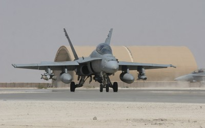 McDonnell Douglas F/A-18 Hornet [7] wallpaper