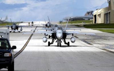 McDonnell Douglas FA-18 Hornet [2] wallpaper