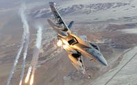McDonnell Douglas F/A-18 Hornet wallpaper 1920x1200 jpg