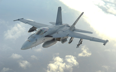 McDonnell Douglas F/A-18 Hornet [2] wallpaper