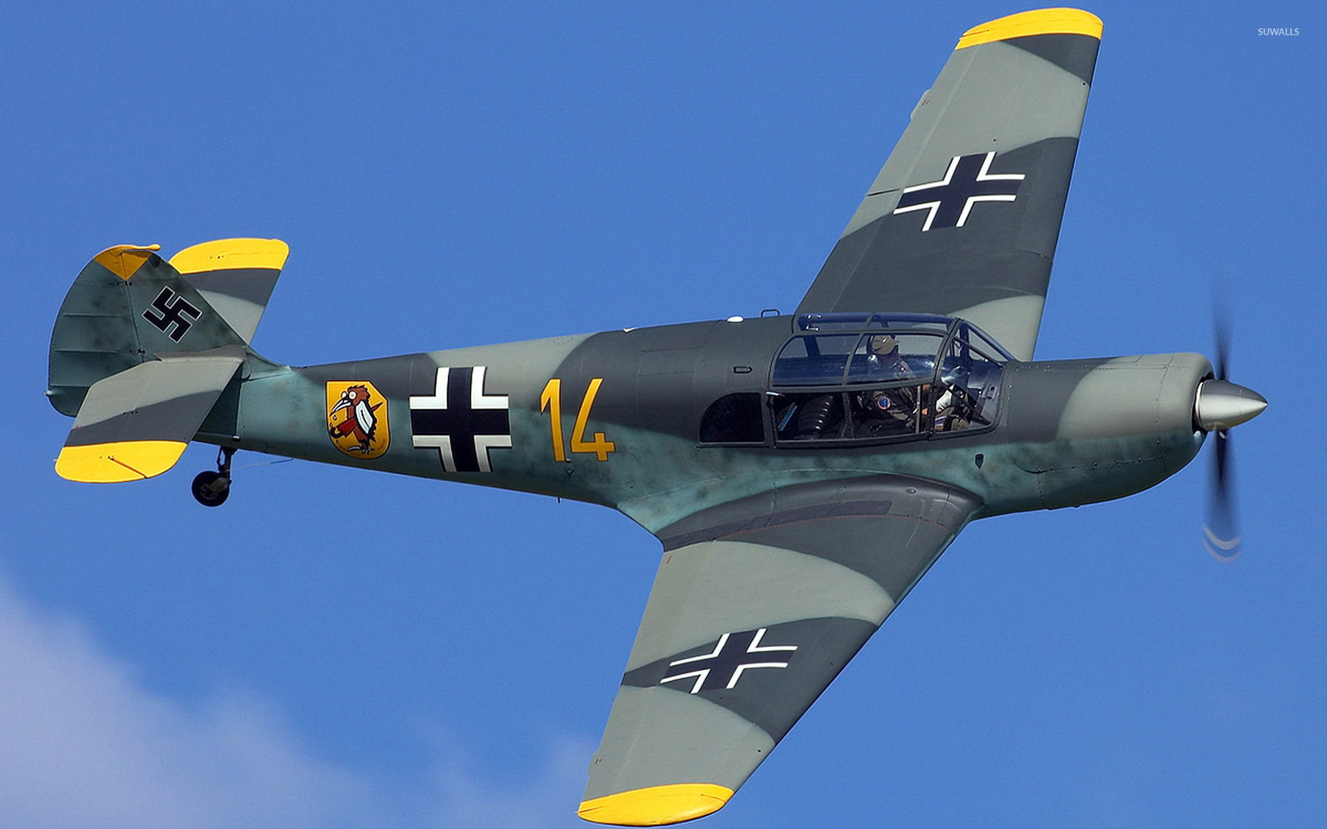 Messerschmitt Bf 108 wallpaper - Aircraft wallpapers - #33353