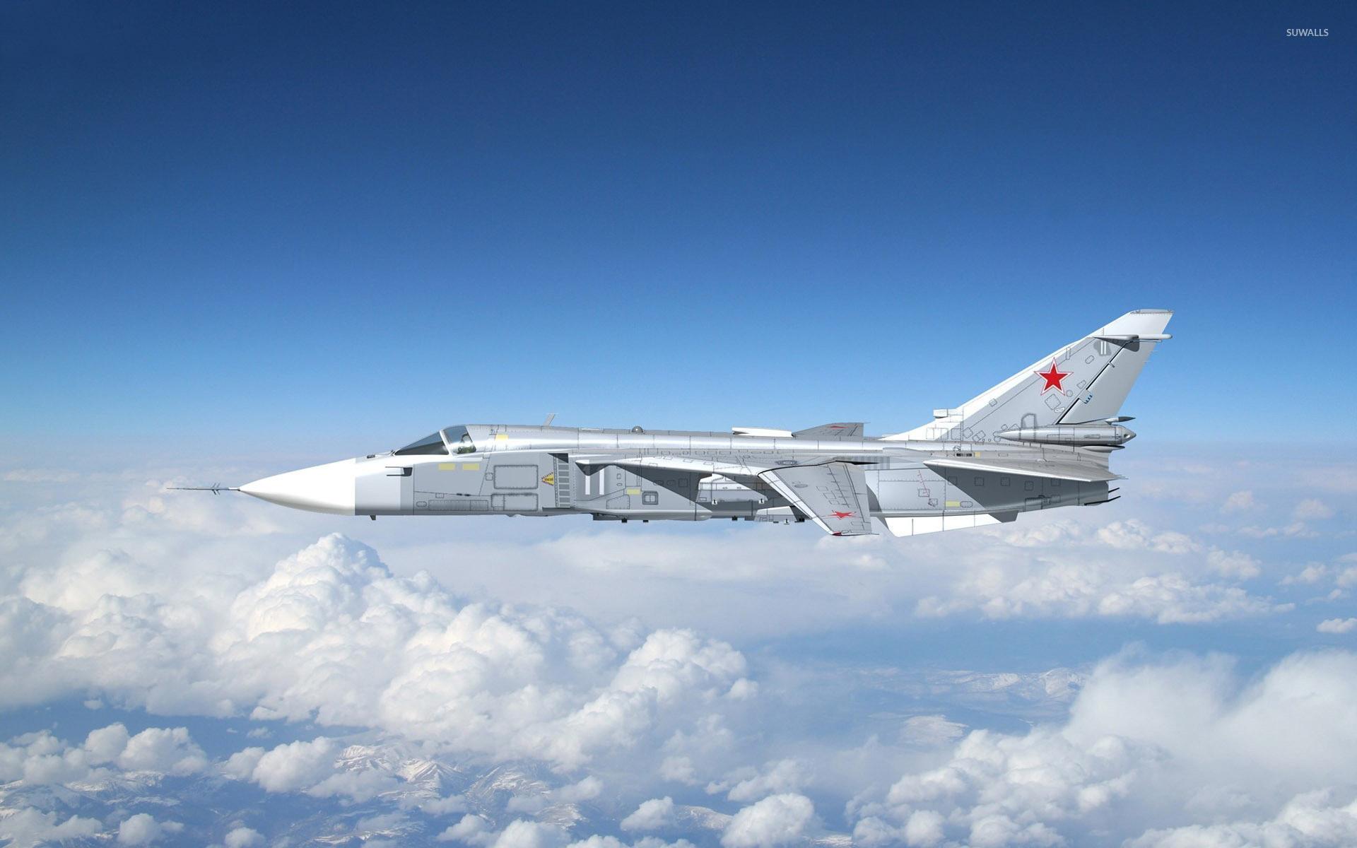 Sukhoi Su-24 wallpaper - Aircraft wallpapers - #7959