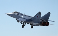 Mikoyan MiG-31 taking-off wallpaper 1920x1200 jpg