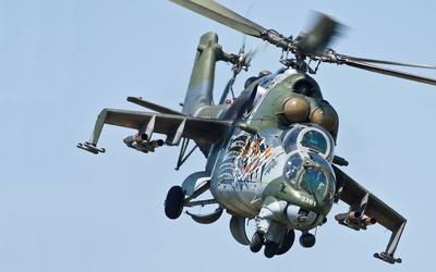 Mil Mi-24 [6] Wallpaper