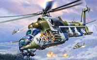 Mil Mi-24 [9] wallpaper 1920x1080 jpg