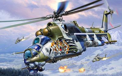 Mil Mi-24 [9] wallpaper
