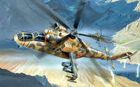 Mil Mi-24 [7] wallpaper 2560x1600 jpg