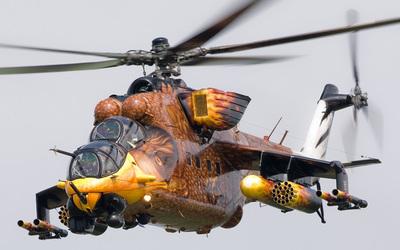 Mil Mi-24 wallpaper