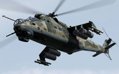 Mil Mi-24 [3] wallpaper