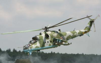 Mil Mi-24 [4] wallpaper