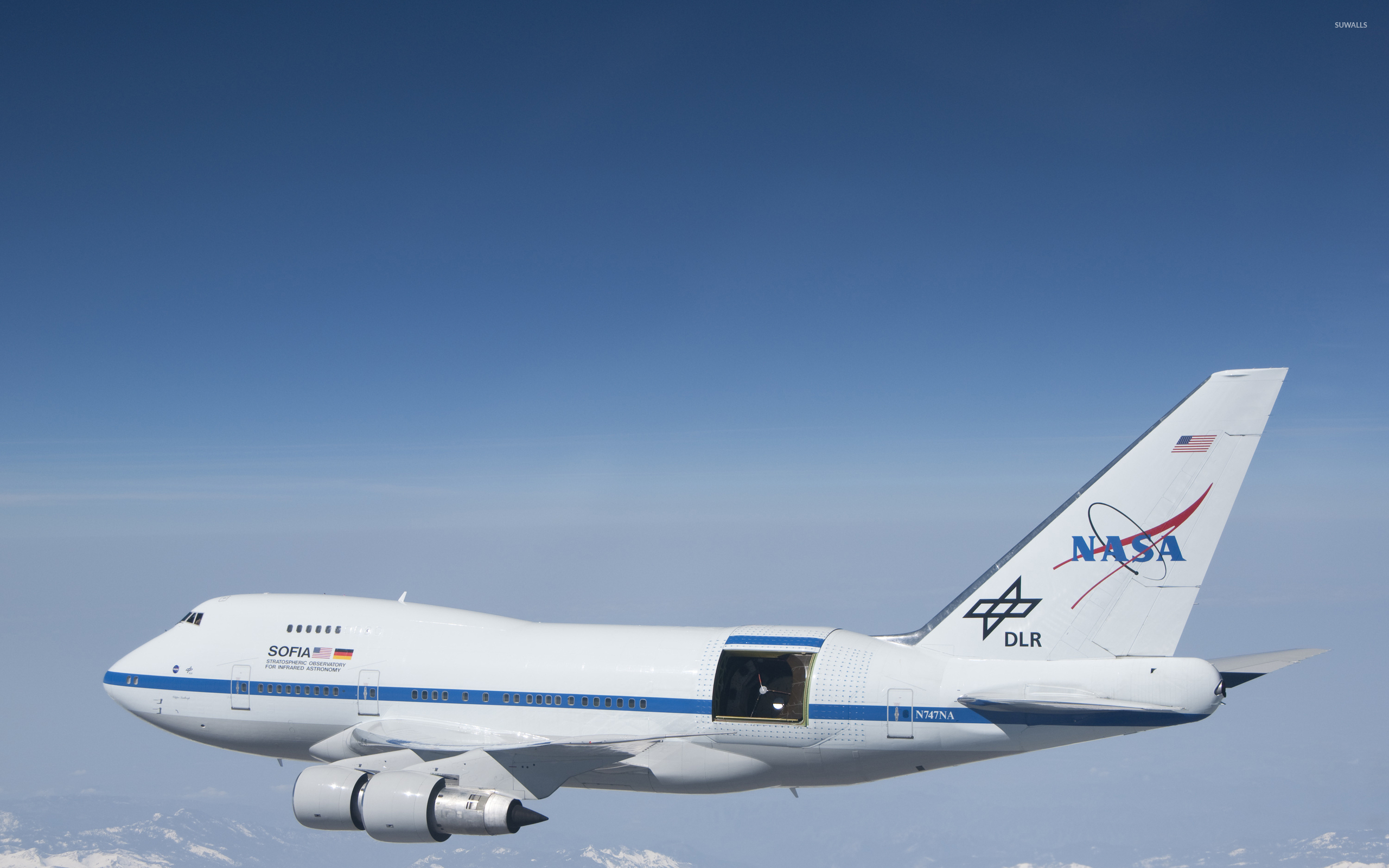Nasa Boeing 747 Inflight Wallpaper Aircraft Wallpapers Aircraft Wallpaper Flying Magazine