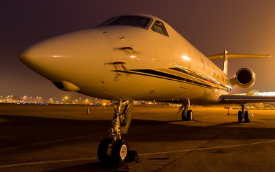 Parked Hawker 4000 wallpaper