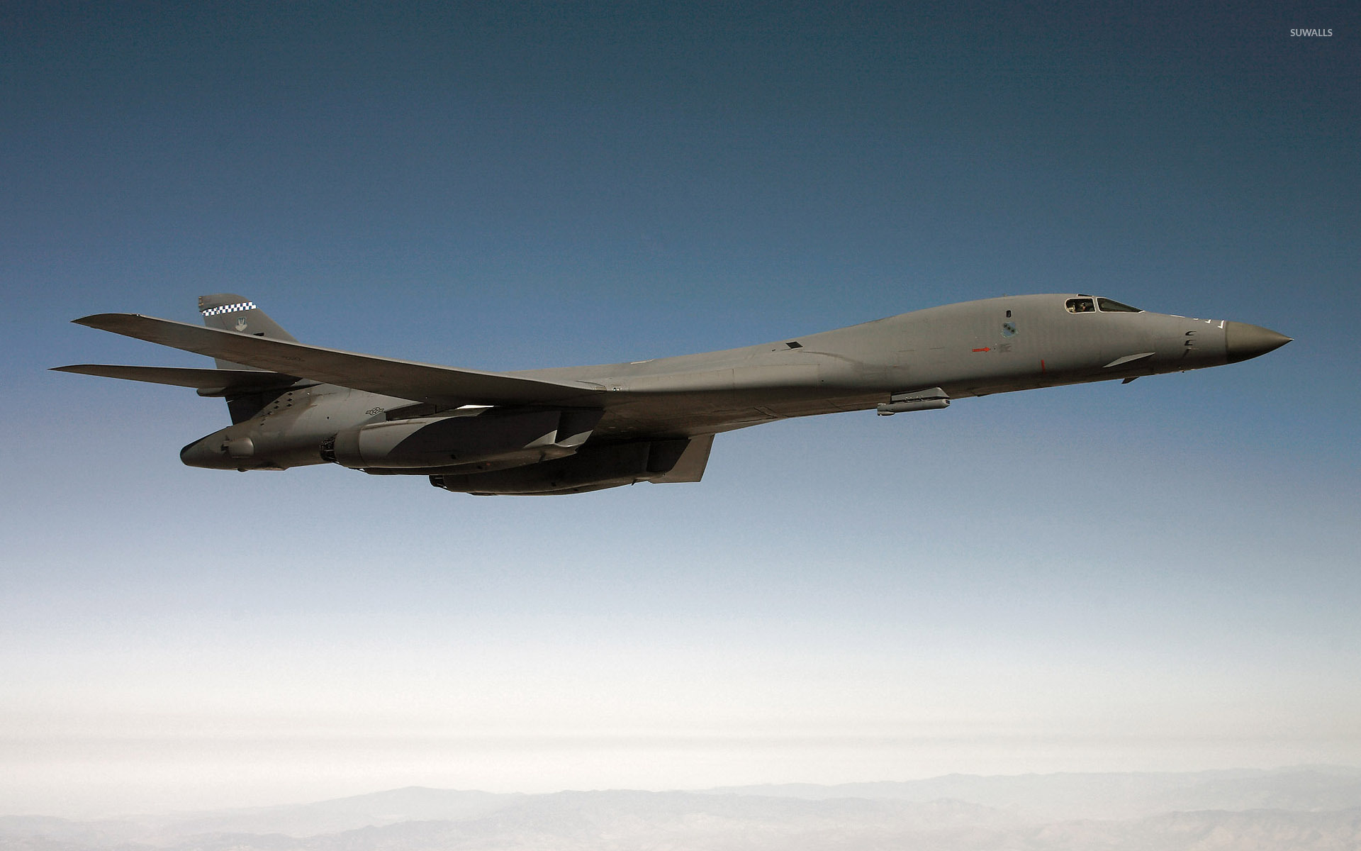 Rockwell B-1 Lancer [7] wallpaper - Aircraft wallpapers ... B1 Lancer Wallpaper