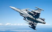 Saab JAS 39 Gripen wallpaper 2560x1600 jpg