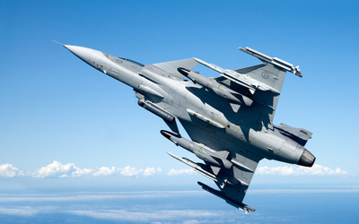 Saab JAS 39 Gripen wallpaper