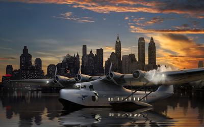 Seaplane wallpaper