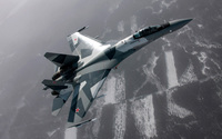 Sukhoi Su-27 wallpaper 1920x1200 jpg