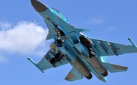 Sukhoi Su-34 [3] wallpaper 2560x1440 jpg