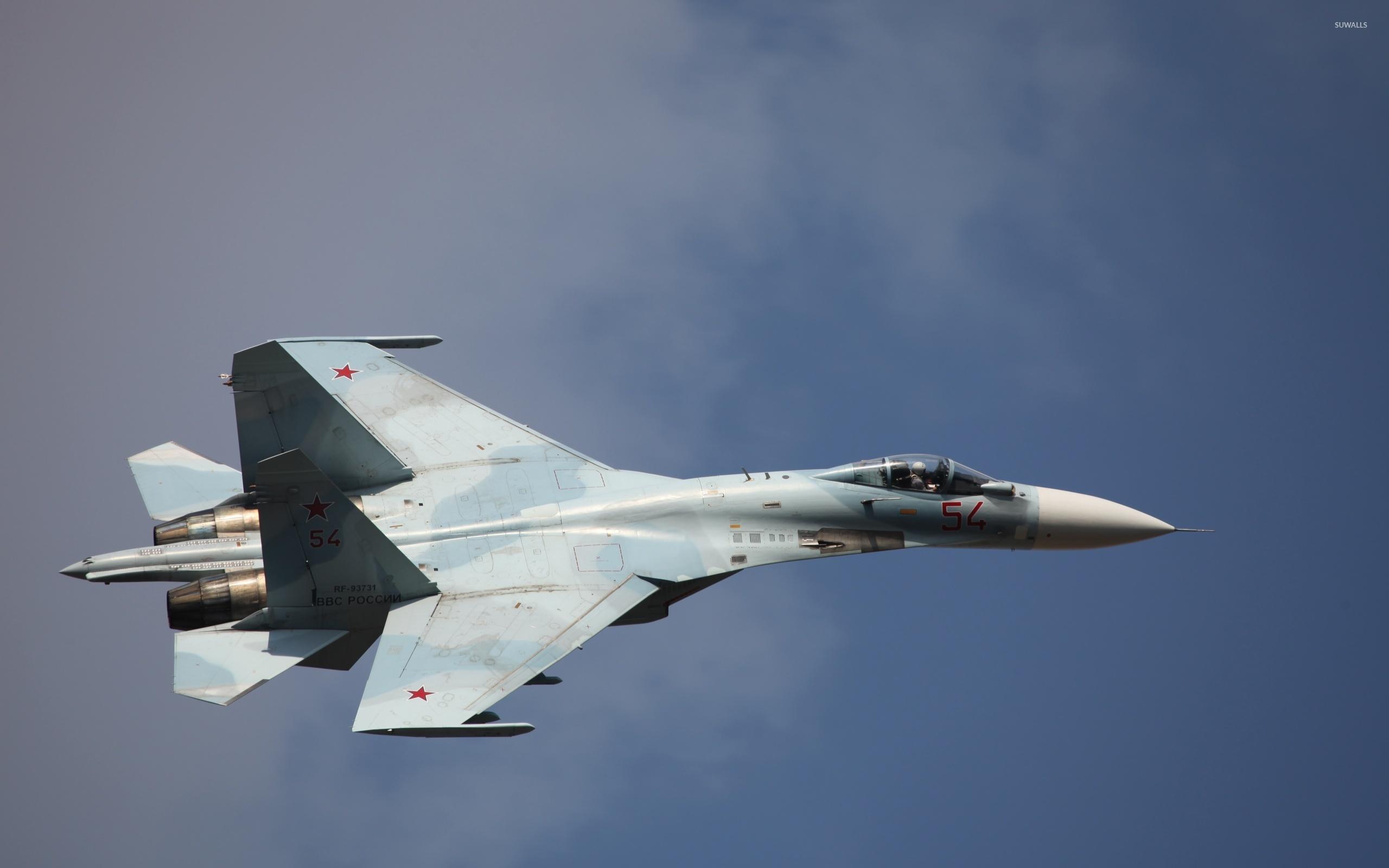 Sukhoi Su-35 [7] wallpaper