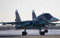 Sukhoi Su-35 [10] wallpaper 2880x1800 jpg