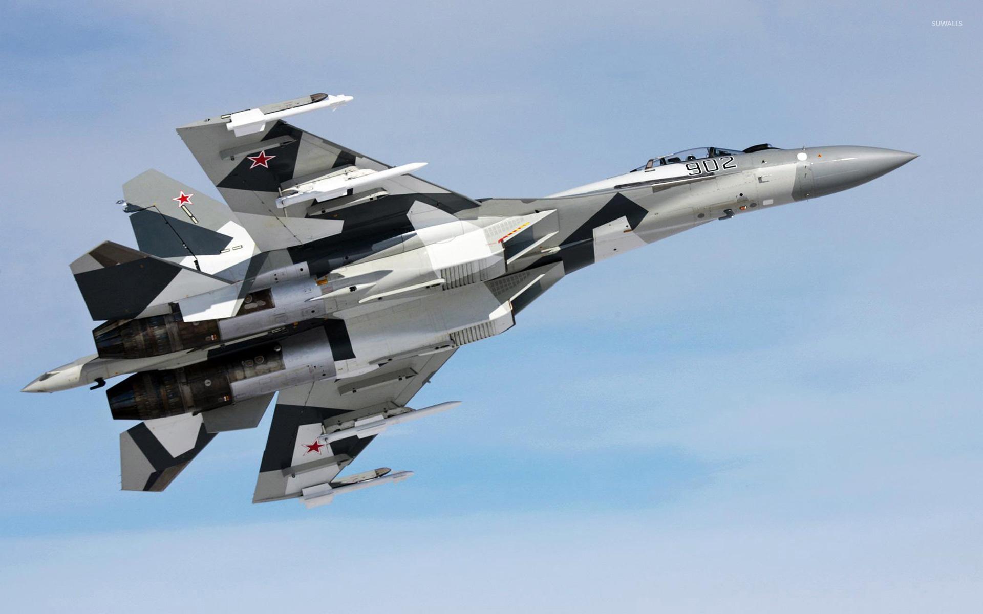 Sukhoi Su-35 wallpaper