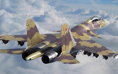 Sukhoi Su-37 wallpaper