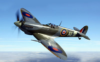 Supermarine Spitfire [3] wallpaper 1920x1200 jpg