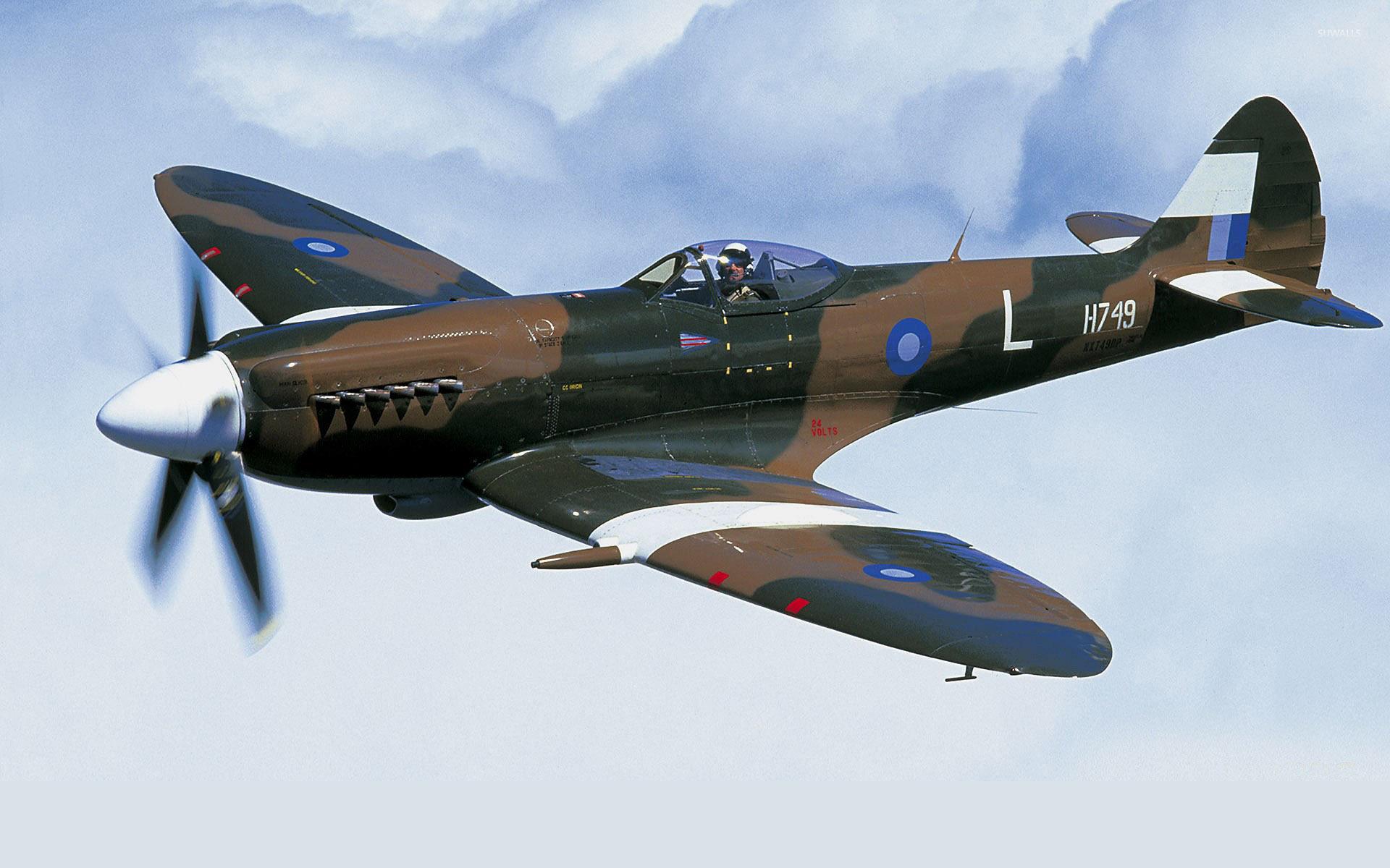 Supermarine Spitfire [17] wallpaper