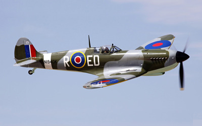 Supermarine Spitfire [9] wallpaper