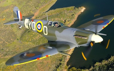 Supermarine Spitfire [5] wallpaper