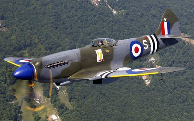 Supermarine Spitfire [4] Wallpaper