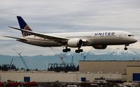 United Airline 787-9 wallpaper 2560x1600 jpg