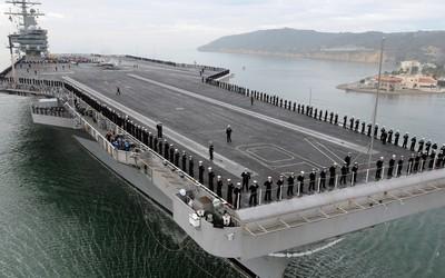 USS Ronald Reagan, nuclear-powered supercarrier wallpaper