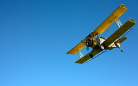 Yellow Grumman G-164 Ag Cat wallpaper 1920x1200 jpg