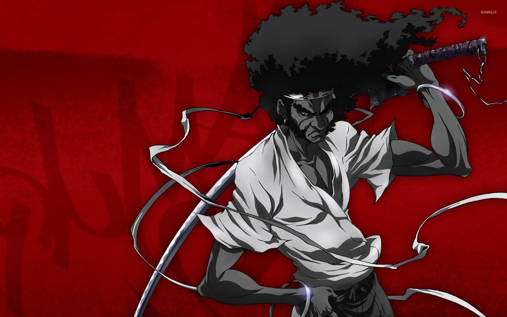 Afro Samurai [3] wallpaper - Anime wallpapers - #11406