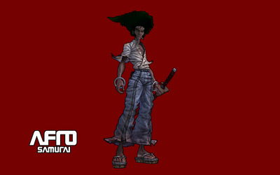 Afro Samurai [9] wallpaper