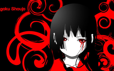 Ai Enma - Jigoku Shojo Girl from Hell wallpaper