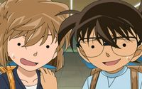 Ai Haibara and Conan Edogawa - Clase Closed wallpaper 1920x1080 jpg